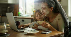 Ci chiamano mamme multitasking...